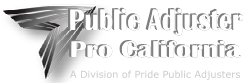 Public Adjuster California