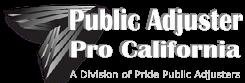 Public Adjuster California