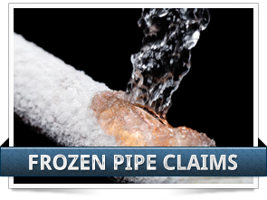 Frozen Pipe Claim Image