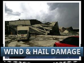 Wind and Hail Damage Claim Image